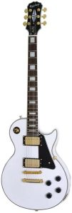 Epiphone.LES.PAUL.CUSTOM.PRO.ALPINE.WHITE