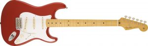 STRATOCASTER.50S.MN RANGOON.RED