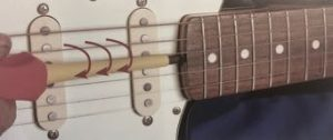 settaggio del truss rod.4