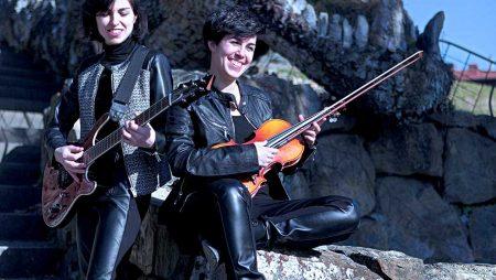 La sfida tra chitarra elettrica e violino classico: Il Golden Salt duo